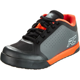 Ride Concepts Powerline Sko Herrer, charcoal/orange